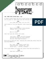 Adventure time small script
