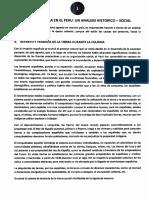 La Agricultura en El Peru Un Analisis Historico Social