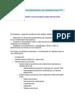 Supervisión y Mantenimiento de Instalaciones FV.modulo 5