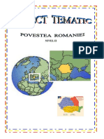 Povestea Romaniei Proiect Didactic