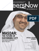 GineersNow Engineering Magazine Issue No. 005, Masdar and Robotics