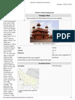 Fatehpur Sikri - Wikipedia, The Free Encyclopedia