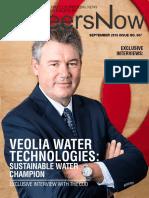 GineersNow Engineering Magazine Issue No. 007, Veolia Water Technologies