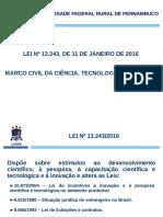 Lei 13243 Andre Alves