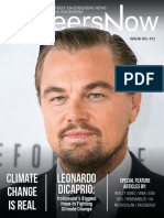 GineersNow Engineering Magazine Issue No. 012, Leonardo DiCaprio, Climate Change