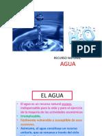 Clase 4. Recurso Agua