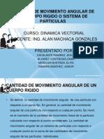 Diapositivas Cantidad de Movimiento Angular