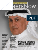 GineersNow Construction Leaders Magazine Issue No 001, Construction Middle East
