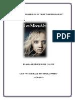 Analisis Literario de Los Miserables-blanca Lili