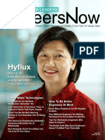 GineersNow Water Leaders Magazine Issue 001, Hyflux Water