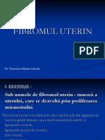 Fibromul Uterin Curs Rom 2017