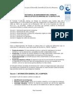 INSTRUCTIVO PARA EL DILIGENCIAMIENTO DEL FORMATO FLAR032 INFORME DE ESTADO DE EMISIONES (IE1) FUENTES FIJAS