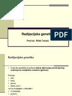 radijacijska genetika ppt
