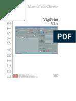 VigiPrint V2 4 Manual Do Cliente Portugues