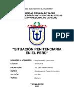 Ensayo Sobre La Situacion Penitenciaria Del Perú