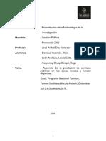 UP - Metodología de La Investigación