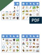 Letra K - Bingo