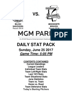 6.25.17 vs. MIS Stat Pack