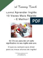 Como Aprender Ingles 10 Vezes Mais Rapido E Melhor