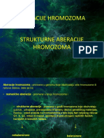 strukturne aberacije hromozoma