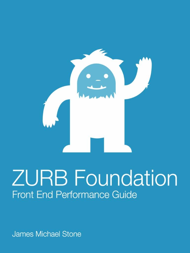 Zurb Foundation Performance Guide   J Query   Safari (Web