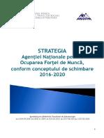 Strategia ANOFM 2016-2020,Conform Conceptului de Schimbare
