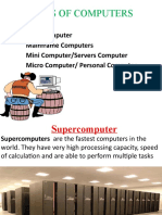 Classifications of Computer