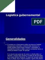 LOGISTICA GUBERNAMENTAL