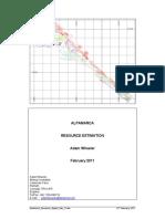 AM Resource Report Feb11 DRAFT V1