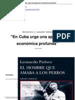 En Cuba Urge Una Apertura Econ Mica Profunda a12699