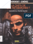 La Casta De Los Metabarones - 7  Aghora el padre-madre - Jodorowsky - Gimenez