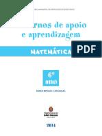 Aprendizagem de Matemática - 6º Ano