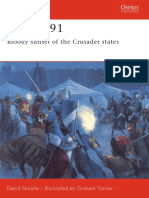 Acre 1291. Bloody Sunset of the Crusader States - D. Nicolle
