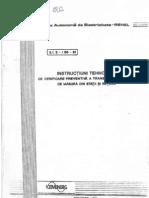 3_1 E - I 66 - 91 - InSTRUCTIUNI TEHNOLOGICE de Verificare Preventiva a Transform a to Are
