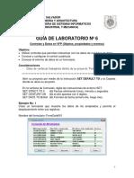 Guia 06 Laboratorio Controles y Datos en VFP 2017