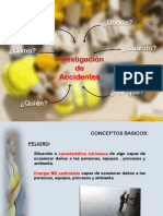 Presentación Investigacion de Accidentes