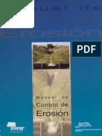 Manual Control de Erosión