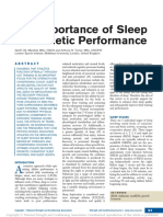 Sleep and Performance