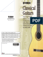 Yamaha - Classical Guitar Catalog 2009