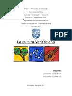 Ensayo acerca de la Cultura Tradicion e Historia  VENEZOLANA.docx