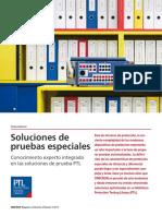 PTL Article Soluciones de Pruebas Especiales OMICRON Magazine 2013 ESP