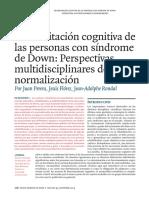 Rehabilitación Cognitiva en Sindrome de Down