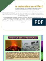 Fenómenos Naturales en El Perú