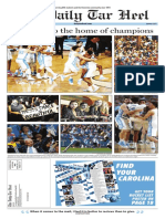 2017 Mail-Home Edition of the Daily Tar Heel