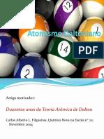 Atomismo Daltoniano - Fq Quantica