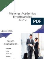Ofertas Misiones 2017-2