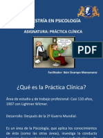 Primera Sesión de Práctica Clínica