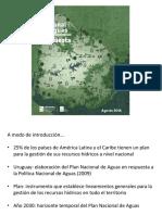 Propuesta de Plan Nacional de Aguas
