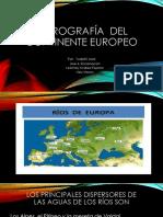 Hidrografía y Relieve Del Continente Europeo