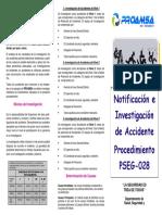 PSEG-28 Notificacion de Accidente